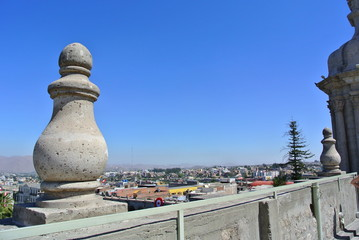 Blick über Arequipa, Peru