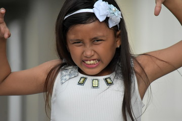 Girl Child Under Stress