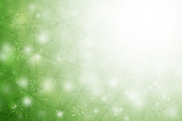 christmas abstract background with snowflakes.