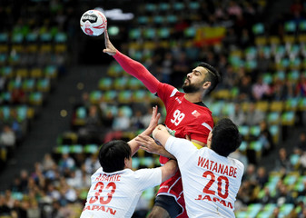 IHF Handball World Championship - Germany & Denmark 2019 - Group B - Bahrain v Japan