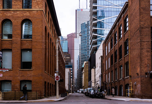 A side street in the city