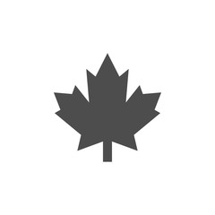 Maple icon graphic design template vector