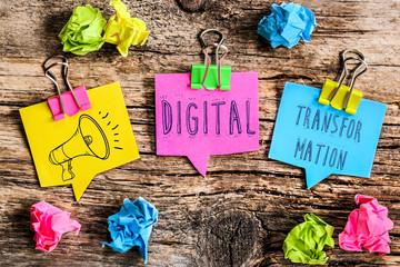bulle Post-it : digital transformation