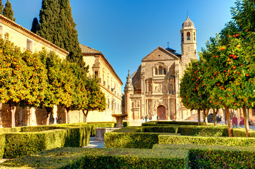 Ubeda landmarks, Andalusia, Spain Fototapete