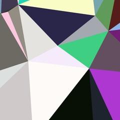 Abstract background multicolored geometric poligonal