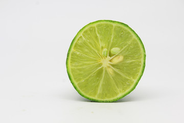 Green Lime Isolated