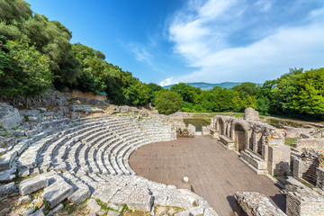 Ancient Theater in Butrint, Albania