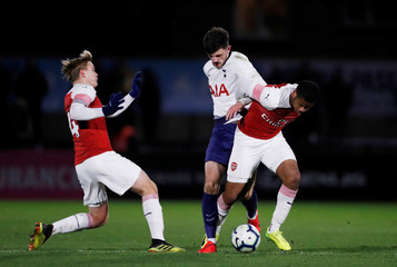 FA Youth Cup Fourth Round - Arsenal v Tottenham Hotspur