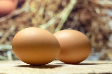 Homemade eggs