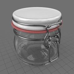 Small lock jar