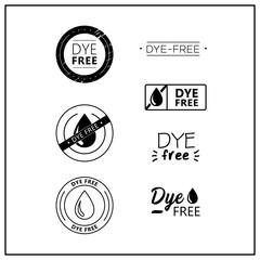 dye free icons