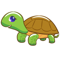 Turtle cartoon clipart