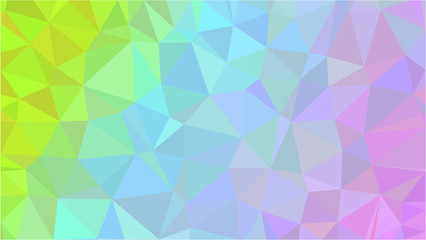 Color Polygonal Mosaic Background, Low Poly Style, Vector illustration, Business Design Templates, Shining polygon pattern, geometric image in Origami style with gradient. Bright template for web site
