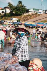 Vietnam, Mui Ne fishing village