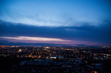 Fotobehang Las Vegas city at night