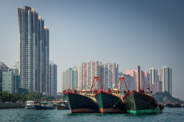 Aberdeeen Harbour - Hong Kong