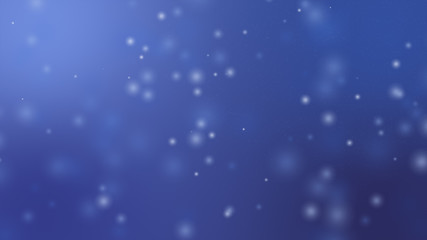 Blue background, digital signature with wave particles, sparkle, veil and space with depth of field. The particles are blue light lines.