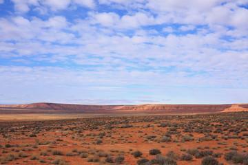 Desert landscape in the spring, Utah, USA.