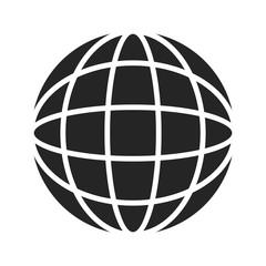 Globe and universe symbol. vector logo