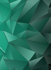 Abstract Low-Poly triangular modern background