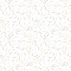 Vector organic seamless abstract background, freehand doodles pattern.