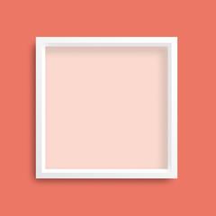 Living Color Background White Frame
