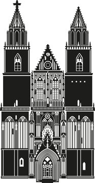 Magdeburg Dom Silhouette