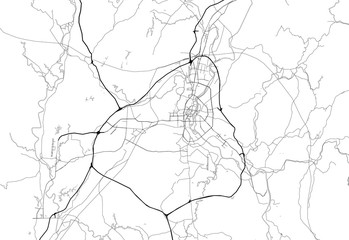 Area map of Guilin, China