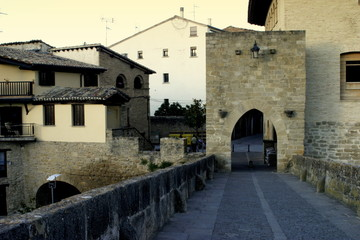 Puente la Reina. Camino de Santiago. Navarra. Spain
