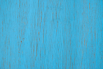 Wooden old blue background. Wallpaper for installation