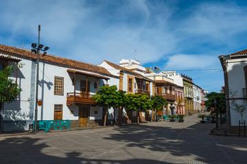 Canary islands gran canaria winter sunny day