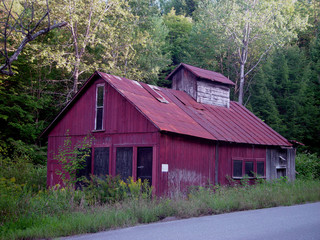 Old sugar house in Vermont