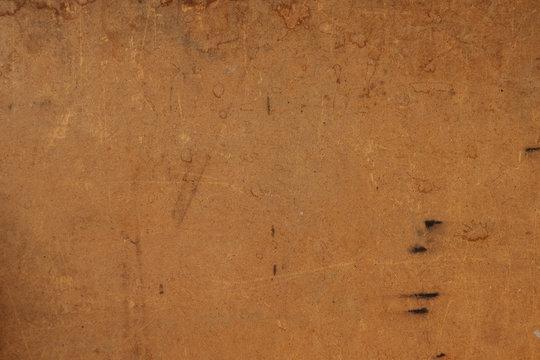 old fibreboard hardboard hdf background with few spots on it