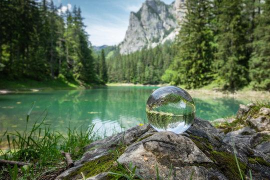 lensball green lake