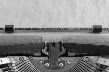 vvintage typewriter. printing mechanism. writer. journalist.