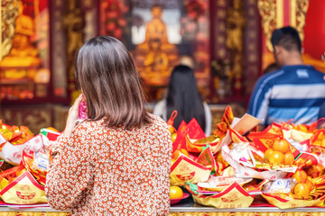Solving the years maker is the belief of Buddhism in China.