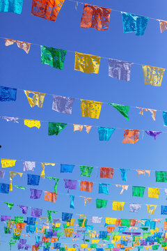 mexican decoration flags