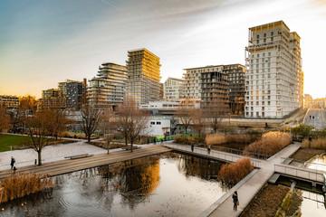 Paris amazing modern architecture