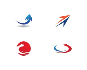 Arrow logo vector