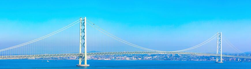 明石海峡大橋 パノラマ