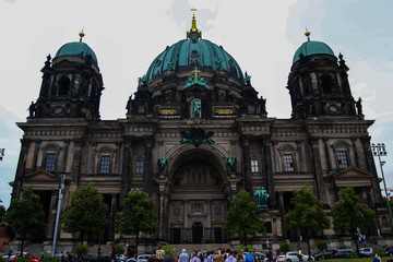 Fotobehang Berlijn Berliner Dom von Vorne