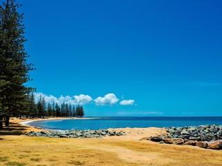 Beautiful Scenery At Scarborough Beach in Redcliffe, Queensland, Australia