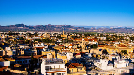 Cyprus Nicosia Panorama