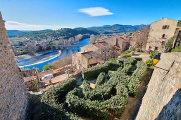Photo sur Plexiglas Beige Roquebrun Village - Herault (France)