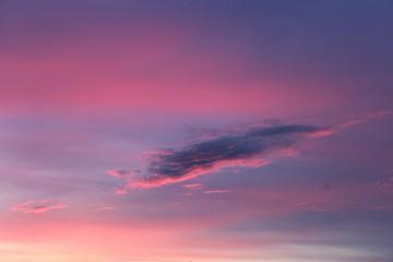 Amazing sky sunset
