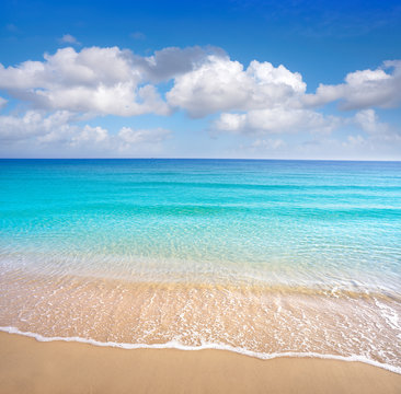 Perfect Mediterranean beach Costa Blanca