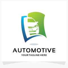 Automotive Book Logo Design Template Inspiration