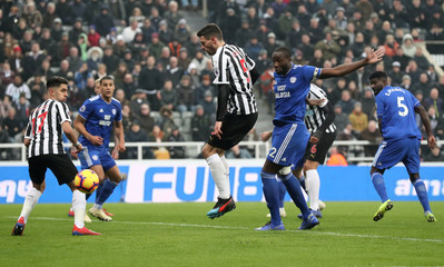 Premier League - Newcastle United v Cardiff City