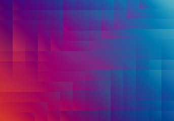 Abstract Colorful Vector Banner Design. Geometric Textured Background