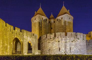 Cite de Carcassonne, France Fototapete